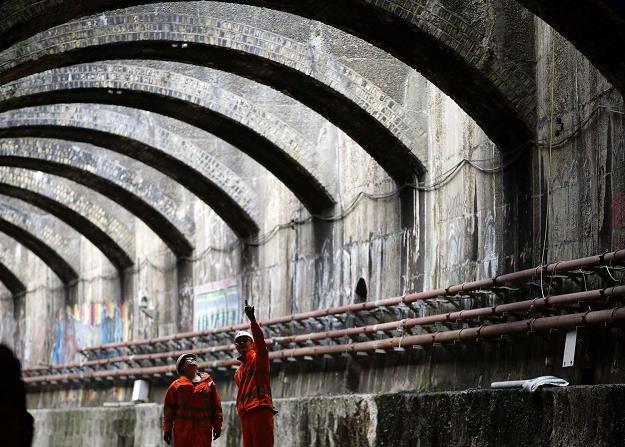 Tunel Connaught (Royal Docks - Excel Centre w l. 1879-2006) zostanie włączony do linii Crossrail /AFP