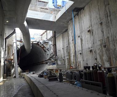 Tunel pod Świną ma już kilometr długości