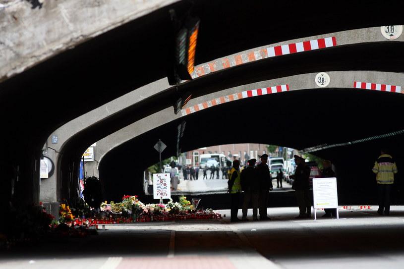 Tunel, w którym doszło do tragedii /AFP