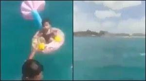 """Tunezja: Roczne dziecko dryfowało ponad kilometr od brzegu. Rodzice się """"zagapili"""""""