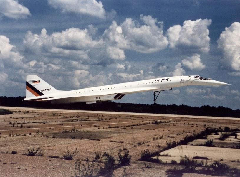 Tupolew Tu-144 / fot. NASA /materiały prasowe