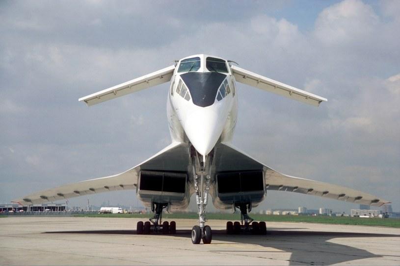 Tupolew Tu-144 konstrukcją przypominał Concorde'a /materiały prasowe