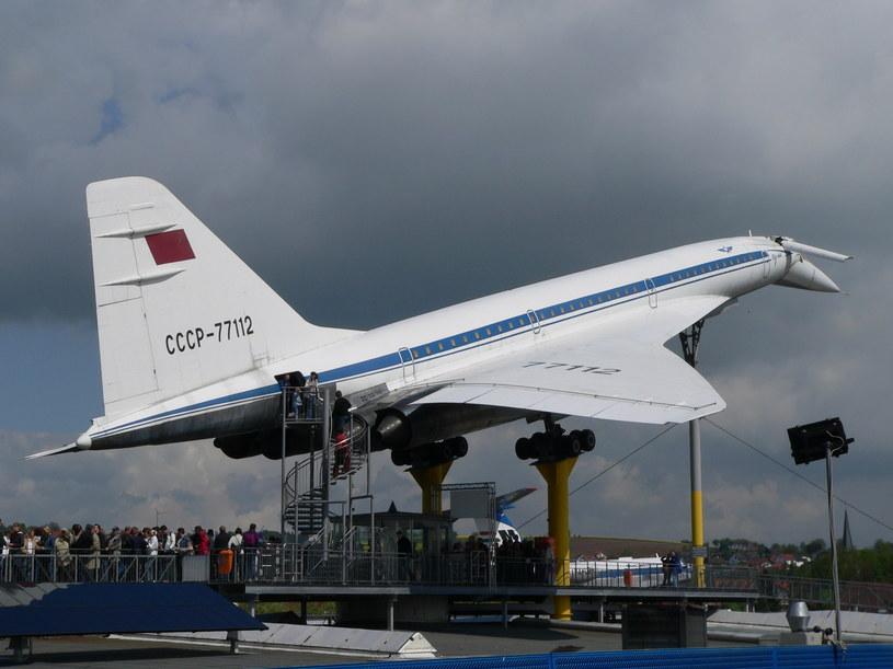 Tupolew Tu-144 stał się muzealnym eksponatem /materiały prasowe