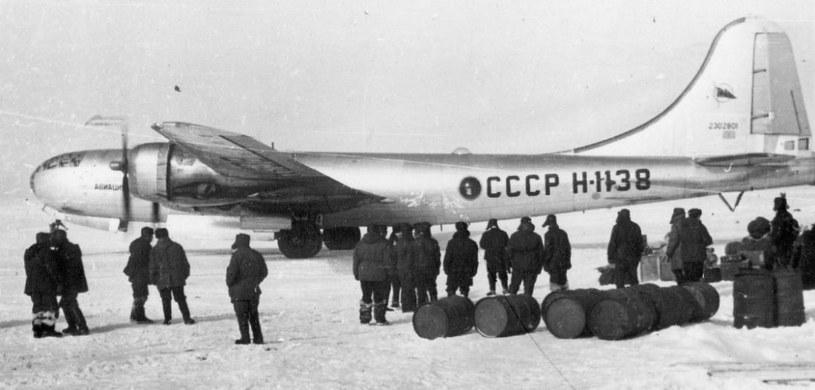 Tupolew Tu-4 - kopia amerykańskiego bombowca B-29 /domena publiczna