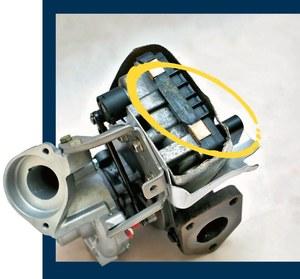 turbo sterowane elektrycznie /Motor