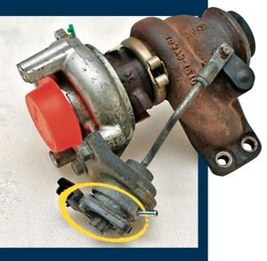 turbo z czujnikiem /Motor