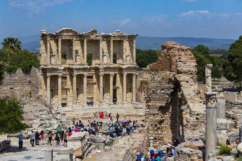 Turcja. Ruiny starożytnego miasta Efez /123RF/PICSEL