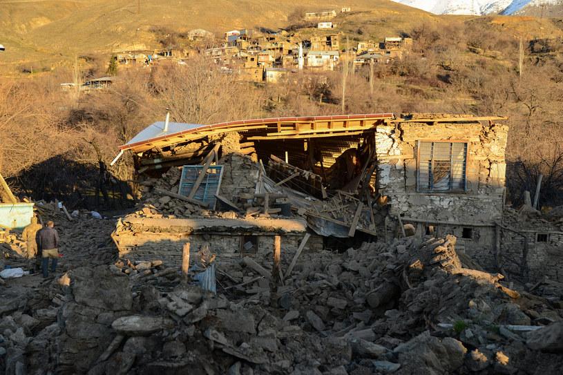 Turcja: Trzęsienie ziemi na granicy z Iranem (zdjęcie ilustracyjne) /ILYAS AKENGIN / AFP /AFP