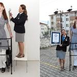 Turczynka najwyższą kobietą świata. Ma ponad 215 cm wzrostu