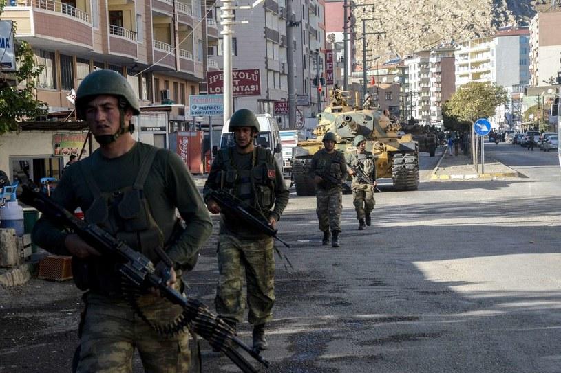 Tureccy żołnierze, zdj. ilustracyjne /AFP