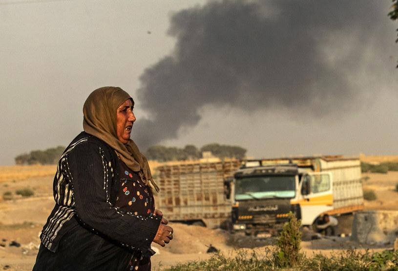 Turecka ofensywa w Syrii może spowodować katastrofę humanitarną /AFP