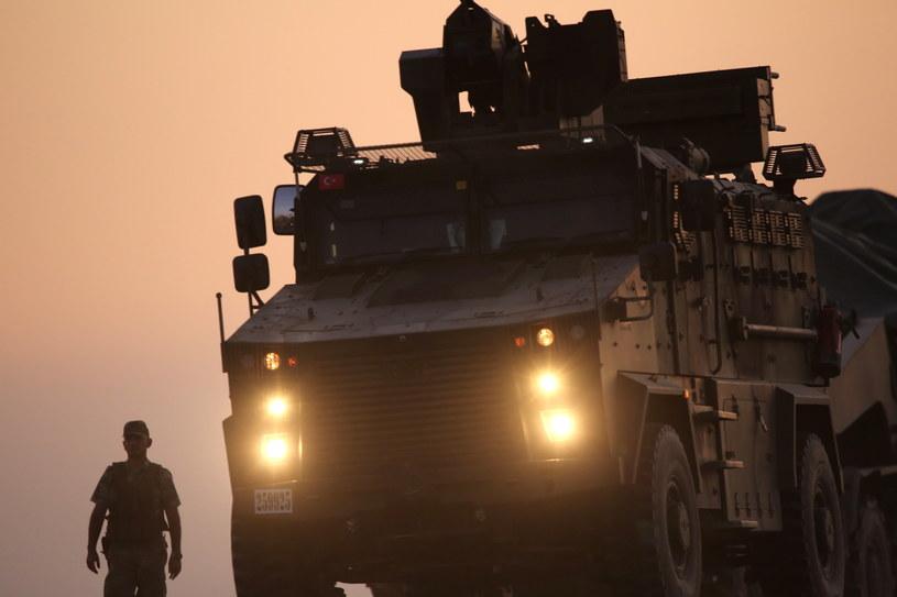 Turecka ofensywa w Syrii /PAP/EPA