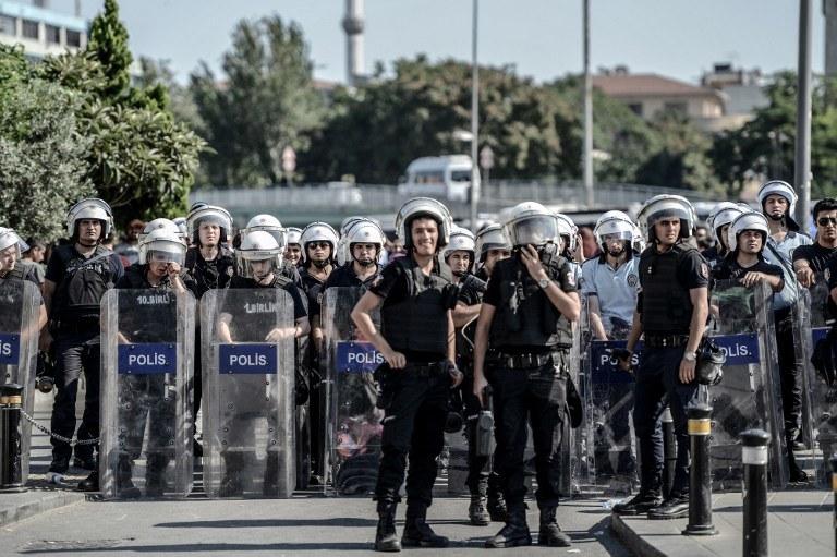 Turecka policja /AFP
