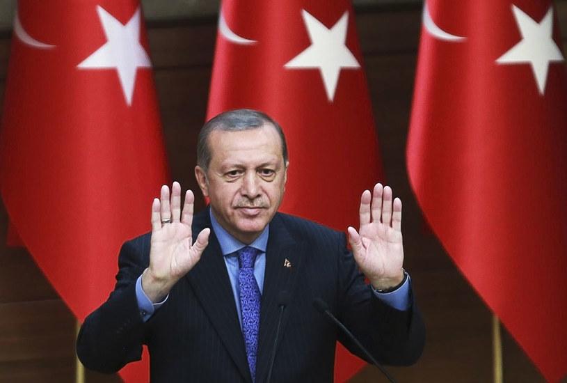 Turecki prezydent Recep Tayyip Erdogan /AFP