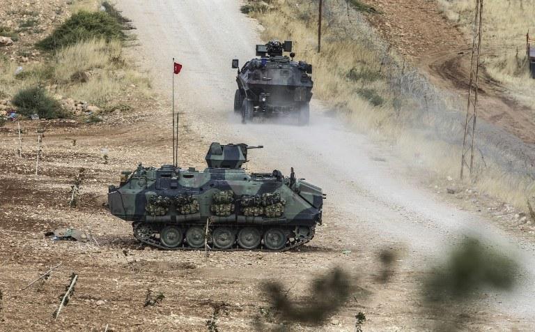 Tureckie czołgi /AFP