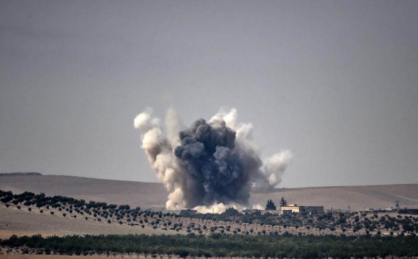 Tureckie samoloty trafiły w 15 celów IS w rejonie miasta Al-Bab (zdjęcie ilustracyjne) /AFP