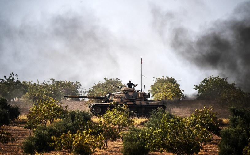 Tureckie wojska na terenie Syrii /BULENT KILIC / AFP /AFP