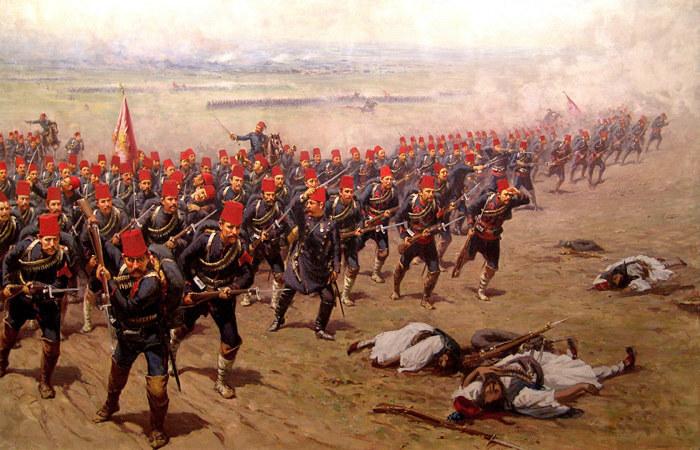 Tureckim żołnierzom zostały już tylko wspomnienia dawnej świetności i zwycięskich wojen /Odkrywca