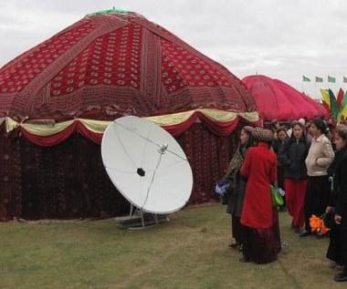 Turkmenistan bez anten satelitarnych