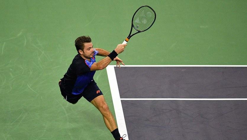 Turniej ATP w Bazylei - Wawrinka doznał kontuzji na treningu i zakończył sezon
