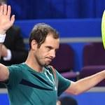 Turniej ATP w Montpellier. Krecz Gasqueta