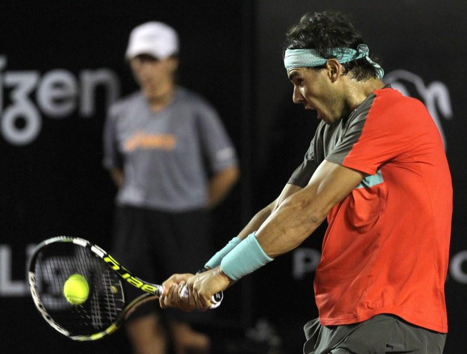Turniej ATP w Rio de Janeiro: Zwycięski powrót Nadala /Antonio Lacerda /PAP/EPA