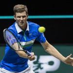 Turniej ATP w Rotterdamie. Hubert Hurkacz przegrał ze Stefanosem Tsitsipasem w 1/8 finału