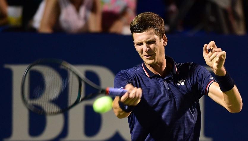 Turniej ATP w Rzymie. Hurkacz przegrał ze Schwartzmanem w 1/8 finału