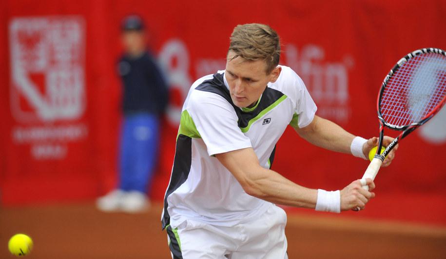 Turniej ATP w Stuttgarcie: Wygrana Kowalczyka w deblu /Ludek Perina  /PAP/EPA