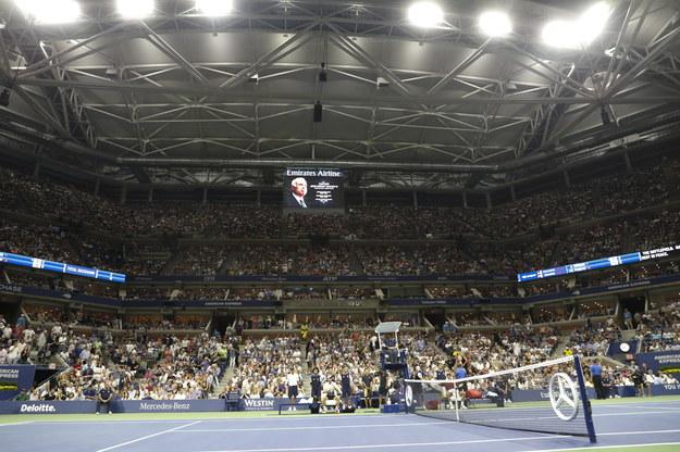 Turniej US Open rozgrywany jest w Nowym Jorku /JASON SZENES    /PAP/EPA