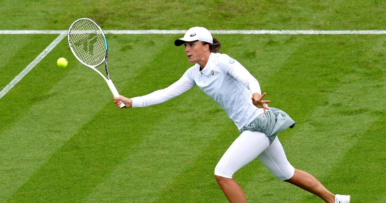 Turniej WTA w Eastbourne. Porażka Świątek w 1/8 finału