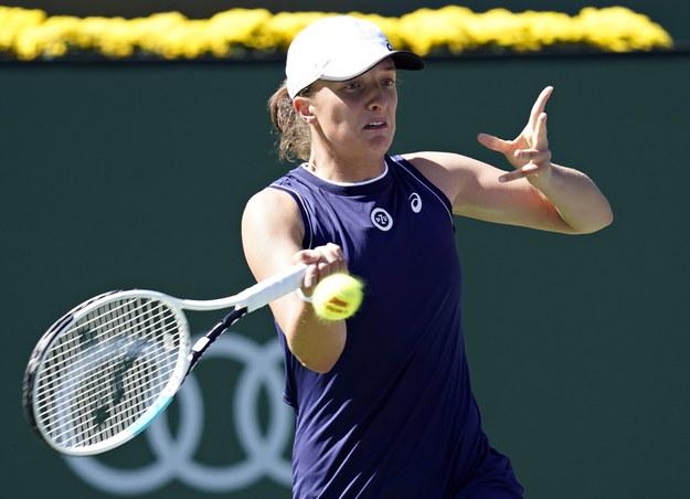 Turniej WTA w Indian Wells: Iga Świątek przegrała w deblu /RAY ACEVEDO /PAP/EPA