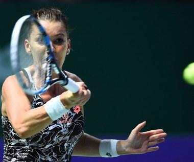 Turniej WTA w Shenzhen: Agnieszka Radwańska awansowała do drugiej rundy