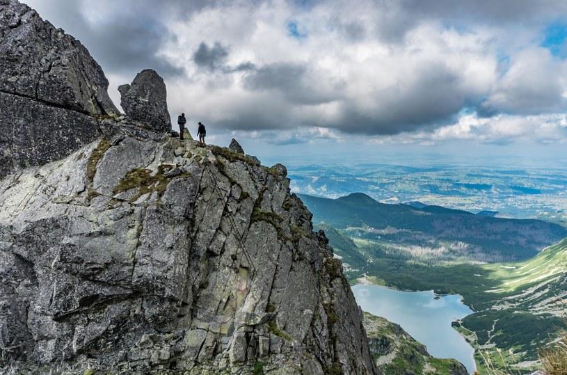 Turyści na Orlej Perci /123RF/PICSEL