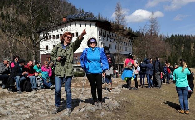 Turyści na Polanie Kalatówki (zdj. arch.) /Grzegorz Momot /PAP