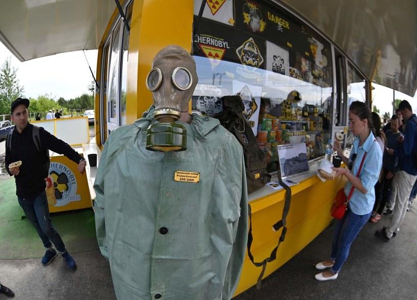 Turyści w Czarnobylu /GENYA SAVILOV /AFP