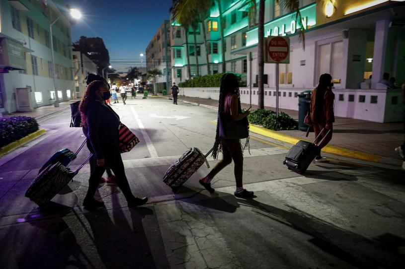 Turyści w USA, zdjęcie ilustracyjne /Marco Bello  /Agencja FORUM