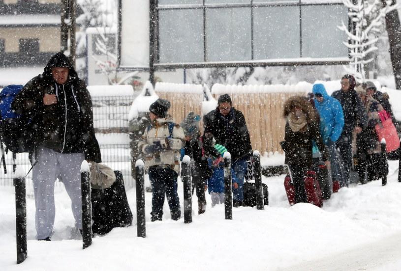 Turyści w Zakopanem, zdjęcie ilustracyjne /Grzegorz Momot /PAP