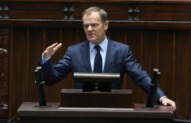 Tusk: Będę wzywał do wprowadzenia sankcji dla sprawców ukraińskiego nieszczęścia