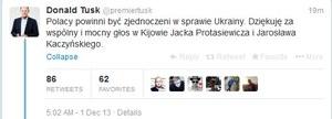 Tusk dziękuje Protasiewiczowi i Kaczyńskiemu