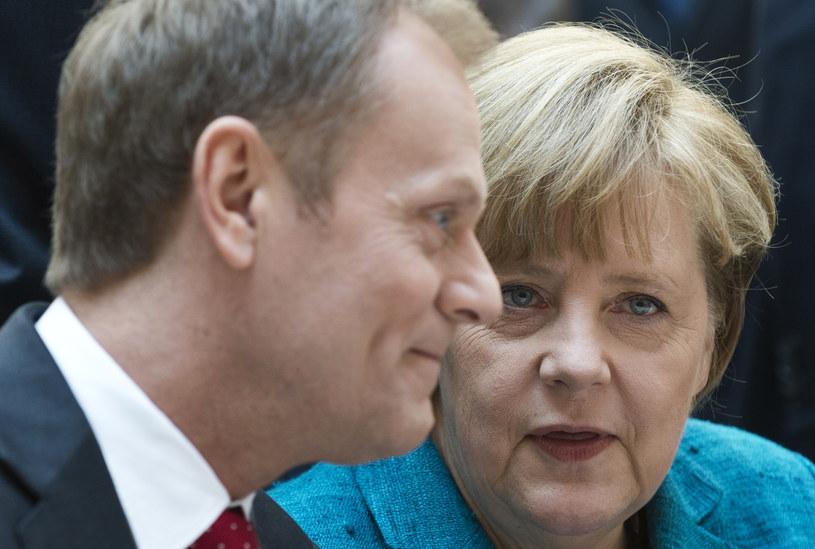 Tusk i Merkel będa rozmawiać o Rosji /AFP