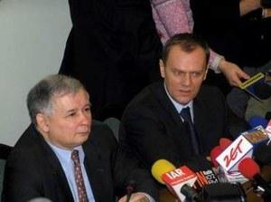 Tusk - Kaczyński: Kto kłamie?