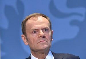Tusk o projekcie wytycznych negocjacyjnych ws. brexitu