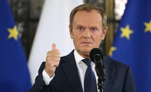 Tusk o przeproszeniu Kaczyńskiego: Numer się udał
