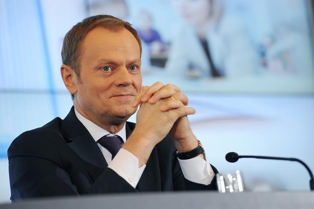 Tusk: Obecnie nie ma potrzeby interwencji na rynku walutowym /PAP