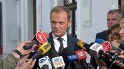 Tusk: Okoliczności spotkania Jarmuziewicza z ludźmi Alpine Bau nie są dyskwalifikujące