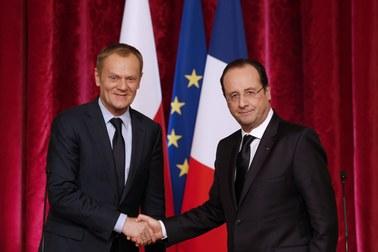 Tusk przekonał Hollande'a. Francja dołącza do koalicji