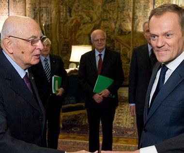 Tusk: Przystąpimy do euro. Zakładając, że ocaleje