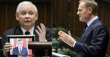 Tusk w Sejmie: Trudno uwierzyć, że wystąpienie szefa PiS jest wynikiem troski