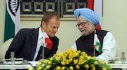 Tusk zadowolony z rozmów z politykami indyjskimi